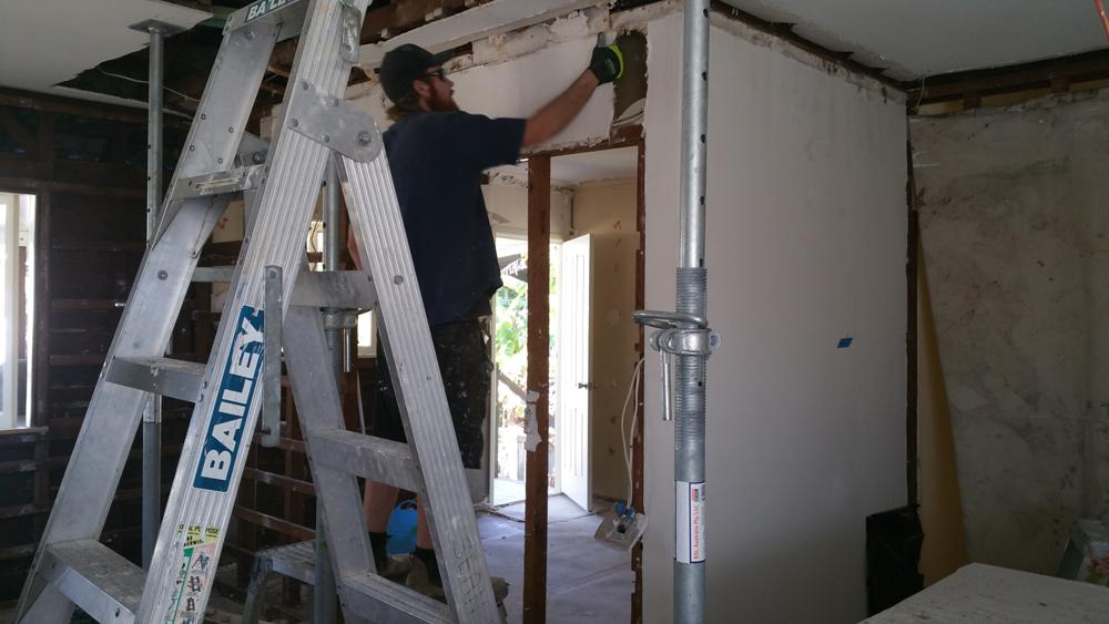 TV-room-renovation-brisbane-during-project-1